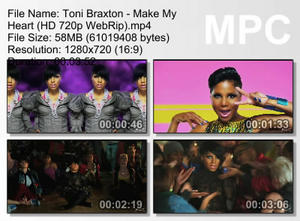 Toni Braxton - Make my heart 2010