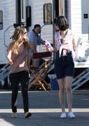 *+2 Butt Shots* Rachel Bilson ~ on the set of ** BFF ** ( November 5, 2010 )
