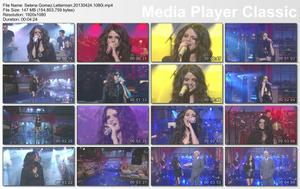 Selena Gomez Letterman 4/24/13 1080i