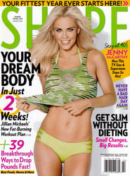 Jenny McCarthy x7 Shape (US) January/February, 2013