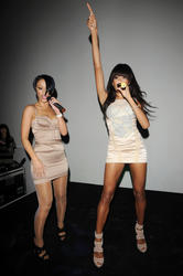 Sugababes leggy and cleavagy in small dresses performing at the Bloomsbury Ballroom in London - Hot Celebs Home