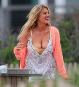 "Kate Upton on the set of ""The Other Woman"" in West Hampton 6/6/13"
